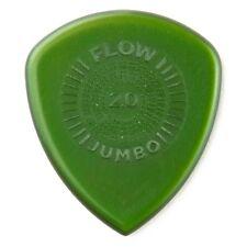 Dunlop 547R200 Flow Jumbo Grip Electric Guitar Picks 2.0mm 12-Pack Refill Bag