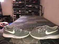 Nike Tanjun Racer Mens Running Training Shoes Size 9 Gray Black White
