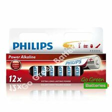 12 x Philips AA Power Alkaline Batteries 1.5V LR6, MN1500, MIGNON, STILO