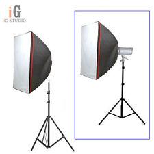 "Studio Softbox 80cmx120cm / 32""x48"" Bowens Mount for Strobe +195cm light stand"