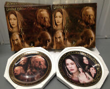 Lord of the Rings Collectors Plates - Complete Series 2 with COA's