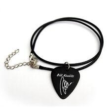 Bill Kaulitz Tokio Printed Signature Guitar Pick Plectrum Picks Necklace BW