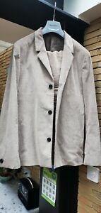 COS Grey Corduroy Suit 2 Piece Size 48