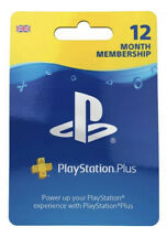 Sony PSN 12 Months Membership - For Sony PlayStation Network ✅🔥 Postage 🚚