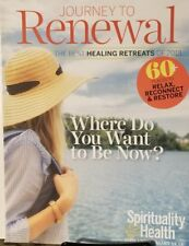 Spirituality & Health To Renewal Jan Feb 2018 Places To Relax FREE SHIPPING mc