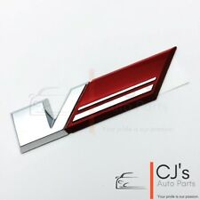 Holden Badge Genuine Red V Striped Flag Ve VF SS SSV Pontiac G8