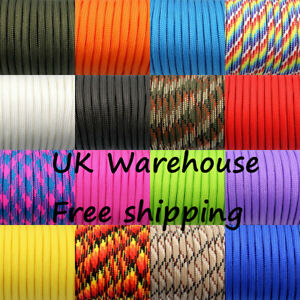 100FT/300FT 550 Paracord Parachute Cord Lanyard Mil Spec Type III 7 Strand Core