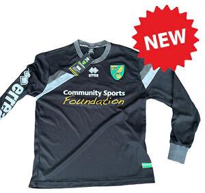 BNWT Norwich City Football Training Top Norwich Shirt Erra New Size S (7