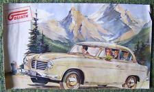 GOLIATH CAR SALES BROCHURE CIRCA 1956 (LARGE FORMAT)