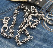 Heavy Still Wire Trucker Rocker Biker Keychain Key Jean Wallet Chain CS113