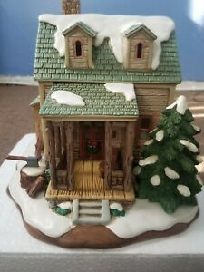 """Lefton Colonial Village Collection """"GRANDMA'S HOUSE """" 2000."""