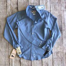 Rj Classics Girls 10 Classic Cool Show Shirt Blue Nwt