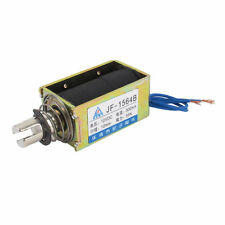 JF-1564B  DC 12V 500mA 55N Push Type Open Frame Actuator Solenoid Electromagnet