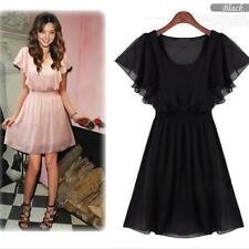 Handmade Chiffon Hand-wash Only Dresses for Women