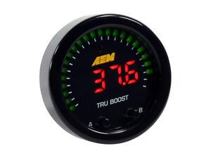 AEM Tru-BoostX Gauge Type Boost Controller 52mm Electronic Universal - 30-0352