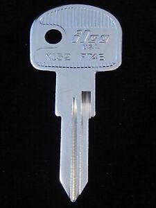 FT46 Key Blank FERRARI 80's-1999, ALFA ROMEO SPIDER 1981-94 MASERATI Ign.1975-82