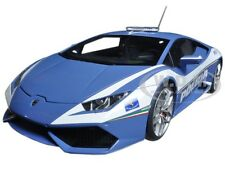 LAMBORGHINI HURACAN LP610 POLICE CAR 1/18 MODEL CAR BY AUTOART 74609