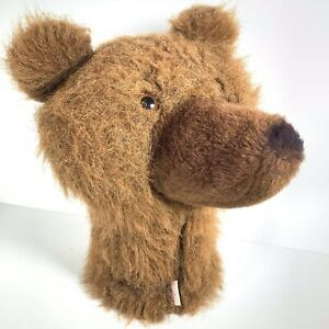 Daphne Bear Golf Headcover Daphnes Grizzly Brown Bear Head Cover