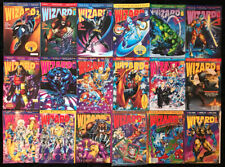 VINTAGE WIZARD Guide To Comics Magazine #2-19 FULL RUN Spawn Venom w/ POSTERS!!!