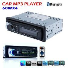 Car Radio Bluetooth Stereo Head Unit MP3/USB/SD/AUX/FM In Dash For iPod Samsung