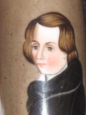 Pfeifenkopf Biedermeier Porzellan Portrait Franz Liszt Porzellanmalerei um 1830
