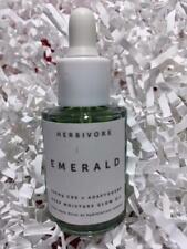 HERBIVORE Emerald Deep Moisture Glow Oil .3oz Deluxe Travel Size - NEW,FREE SHIP