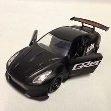 "2009 Nissan GT-G R35 Ban Sopra JDM Tuners 5.5"" Diecast PullBack 1:32 Jada Toy BK"