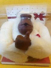 KIPLING Monkey Program XL GORILLA KEYRING boxed CHERRY white NEVER USED
