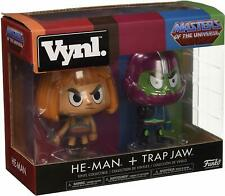 FunkoPOP! Vinyl Trapjaw 2 Pack Masters of the Universe Motu He-Man and Trap Jaw