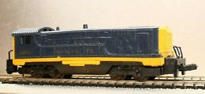 Vintage Arnold Rapido N Gauge Santa Fe Diesel Switcher Locomotive 2268
