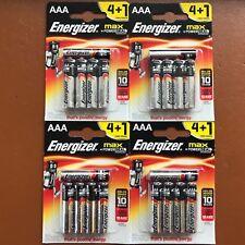 20 x NEW Energizer AAA MAX Alkaline Powerseal Batteries LR03 MX2400 MN2400 MICRO