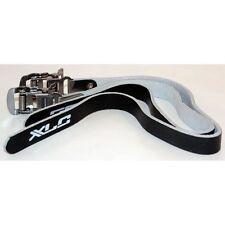 XLC Leather Pedal Toe Straps Pair (2 Straps) Black New