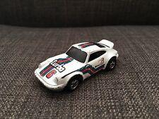Hot Wheels Porsche P-911 Turbo Shell 6 White Toy Car Hong Kong 1974