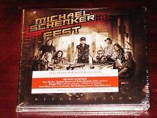 MICHAEL SCHENKER fête : Resurrection, EDITION DELUXE CD+DVD+ signé Affiche NEUF