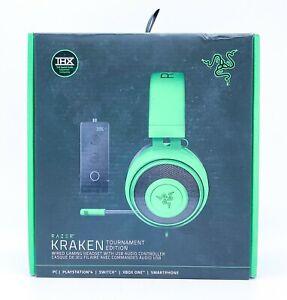 Razer Kraken Tournament Edition Green Wired Headsets PC PS4 Xbox One