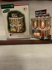 New ListingDepartment 56 Christmas In The City Yankees Souvenir Shop News Stand Retired