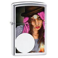 Zippo 28656 fortune teller high polish chrome full size Lighter