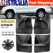 4pcs Splash Guard MudFlaps for Toyota Land Cruiser Prado120 2003-2009 Front&Rear