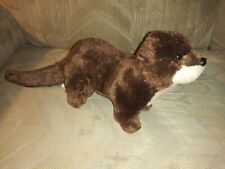 "Adventure Planet Otter Plush 16"" Brown Stuffed Animal Rinco Ages 5+ AP-ADROT..."