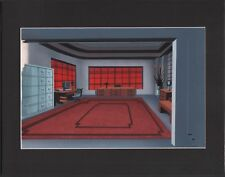 Batman The Animated Series Animation Production Background Warner Brothers