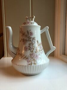 Marx & Gutherz Carlsbad Porcelain Floral Blossom Large Antique Coffee/tea pot