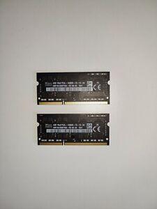 Apple RAM: HYNIX 8GB HMT451S6BFR8A-RD 4GB 1Rx8 SODIMM PC3L-14900S-13-13-B4 DDR3