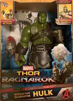 Marvel INTERACTIVE GLADIATOR HULK - Thor Ragnarok NEW NIB ages 4+