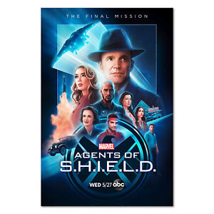 Agents of Shield (S.H.I.E.L.D) Poster - Official Art - High Quality Prints