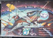 Joegoslavië 1993 blok 42 Donauconferentie
