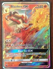 Pokemon Card   BLAZIKEN  GX   Ultra Rare  28/168  CELESTIAL STORM  ***MINT***