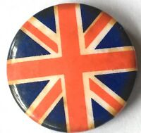 UNION JACK Old OG Vtg 70/80`s Button Pin Badge 25 mm(ska patriot national mod)