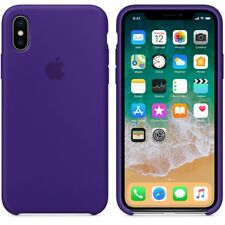 For iPhone X 7 8 Plus Genuine Original Silicone Shockproof Protective Case Cover
