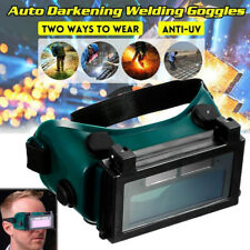 Solar Powered Auto Darkening Welding Helmet Eyes Goggle Welder Glasses Protector