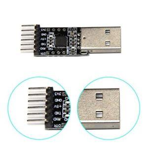 Pro CP2102 USB 2.0 to TTL UART Module 6Pin Serial Converter STC FT232 Module avi